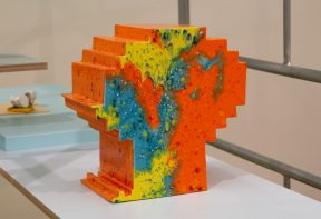 Lilah Fowler abstract 3d art sculpture