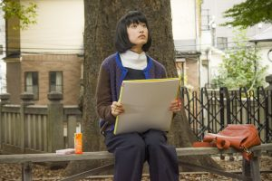 Still from the movie 'Her Sketchbook,' a japanese film.