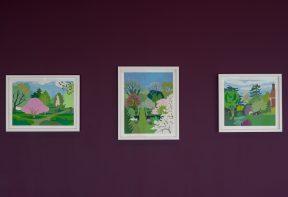 Sonia Coode-Adams 'Lockdown Garden' exhibition at Firstsite