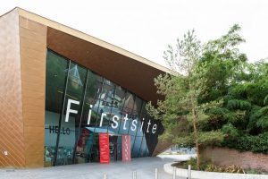 Firstsite building viewed from outside, showing the front facade